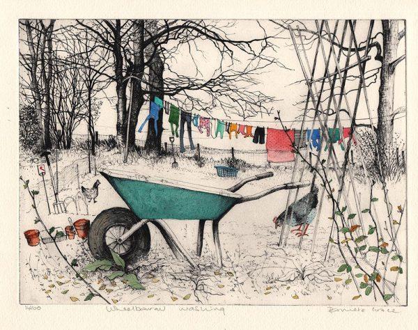 Wheelbarrow Washing