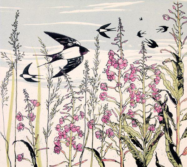 July Swallows