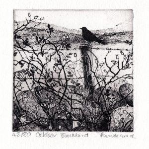 October Blackbird