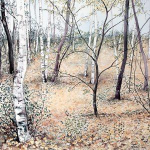 November Birches
