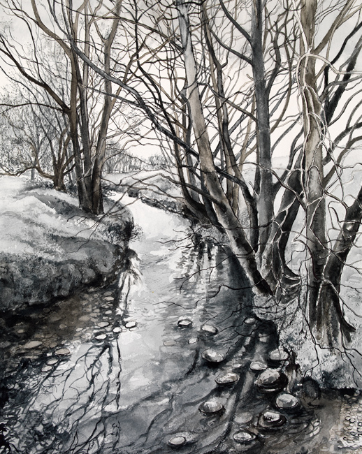 View from the Bridge, Winter